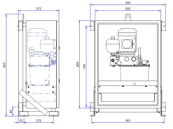 BCU Dimensional Drawing